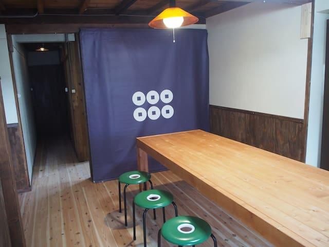 男女混合ドミトリー8人部屋 〔Guesthouse Matsushiro Walkers〕