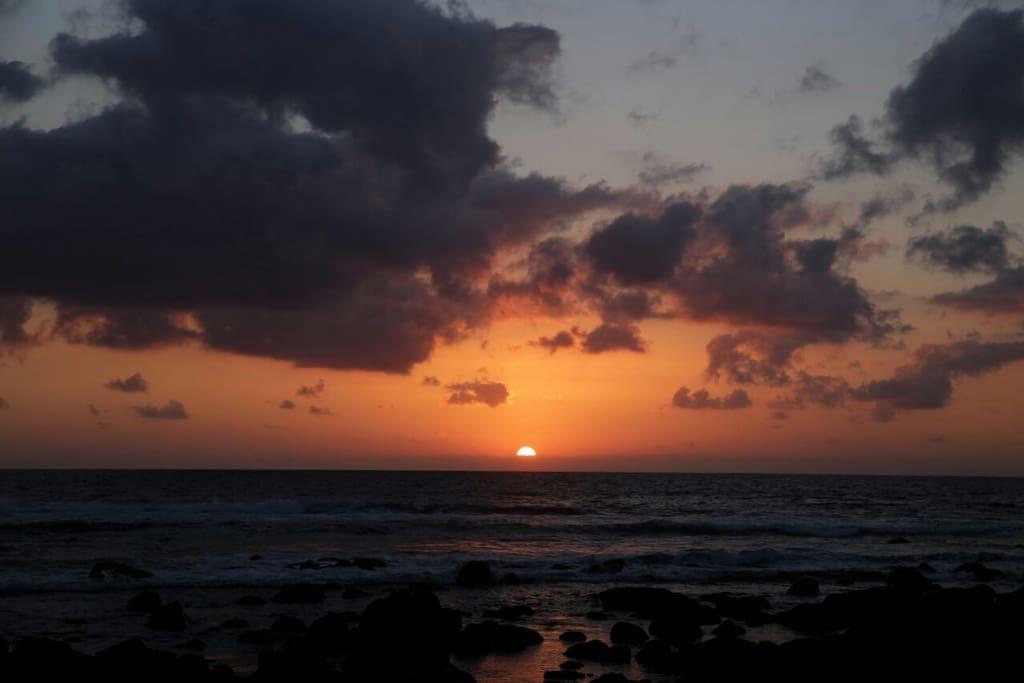 Puesta de Sol en El Golfo