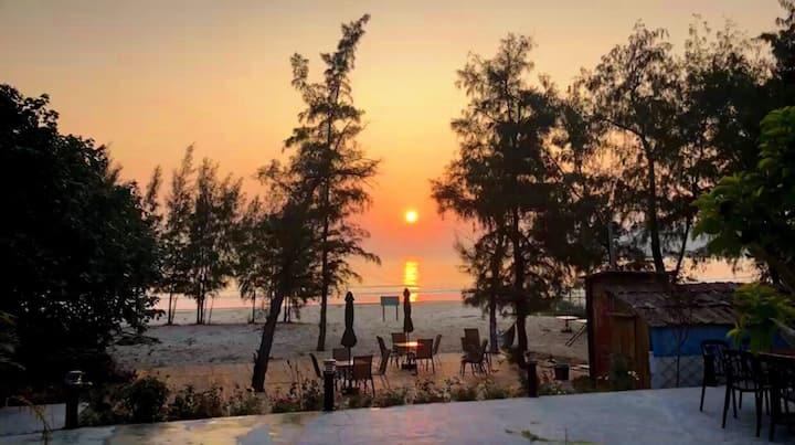 【不舍驿站】阳江东平珍珠湾海景度假民宿 花园连着海滩,烧烤 KTV 私人宴会|团建|休闲自驾游