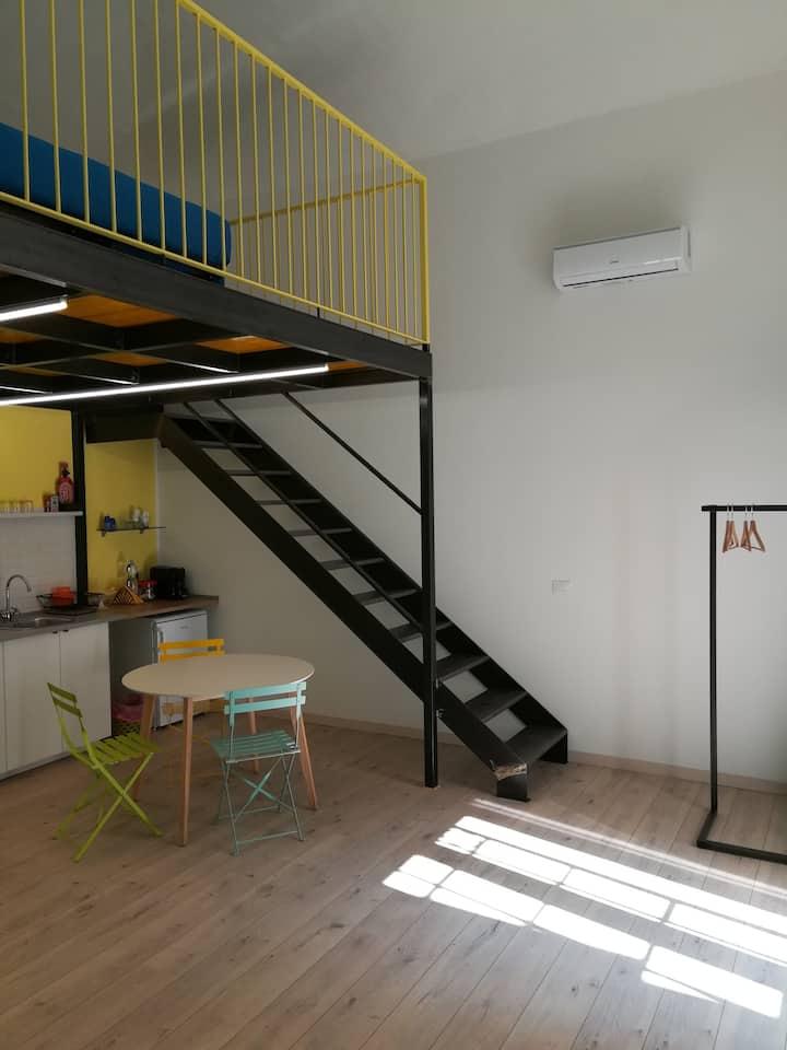 2 LOFTS guest house - intero loft in centro città