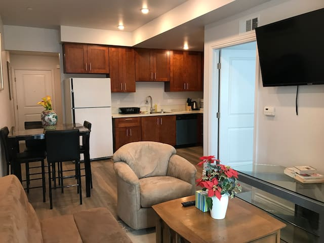 1bd/1bath, brand new apt fully furnished in Reseda - Los Angeles - Appartement