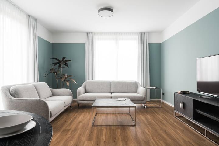 Appartment mit 2 Schlafzimmer