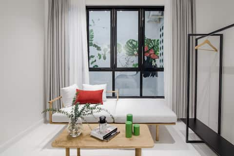 Botanist Lab cozy room in Tan Dinh by CIRCADIAN