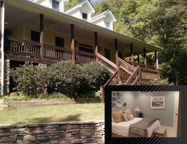 Mountain like Retreat in Charlotte - Weddington - Casa