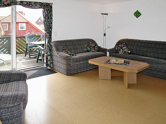 Holiday apartment in Wangerl.-Friederikensiel - Friederikensiel - Departamento