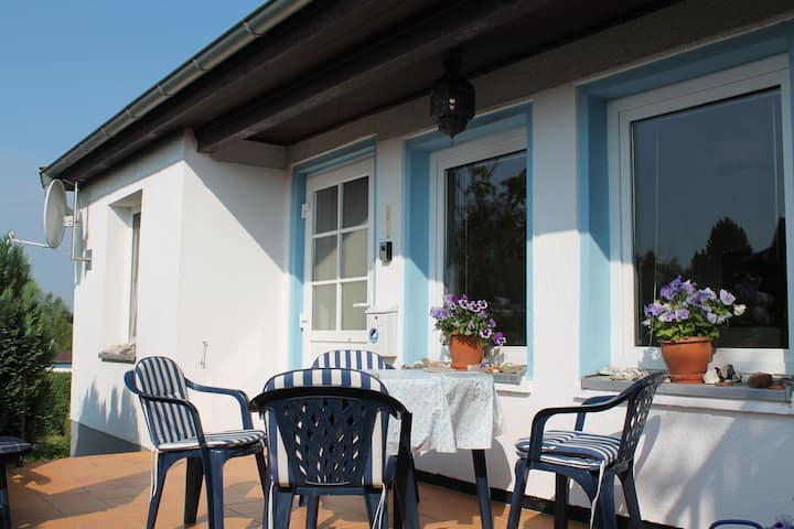 Bungalow in Wohlenberg with Garden, Terrace, Heating