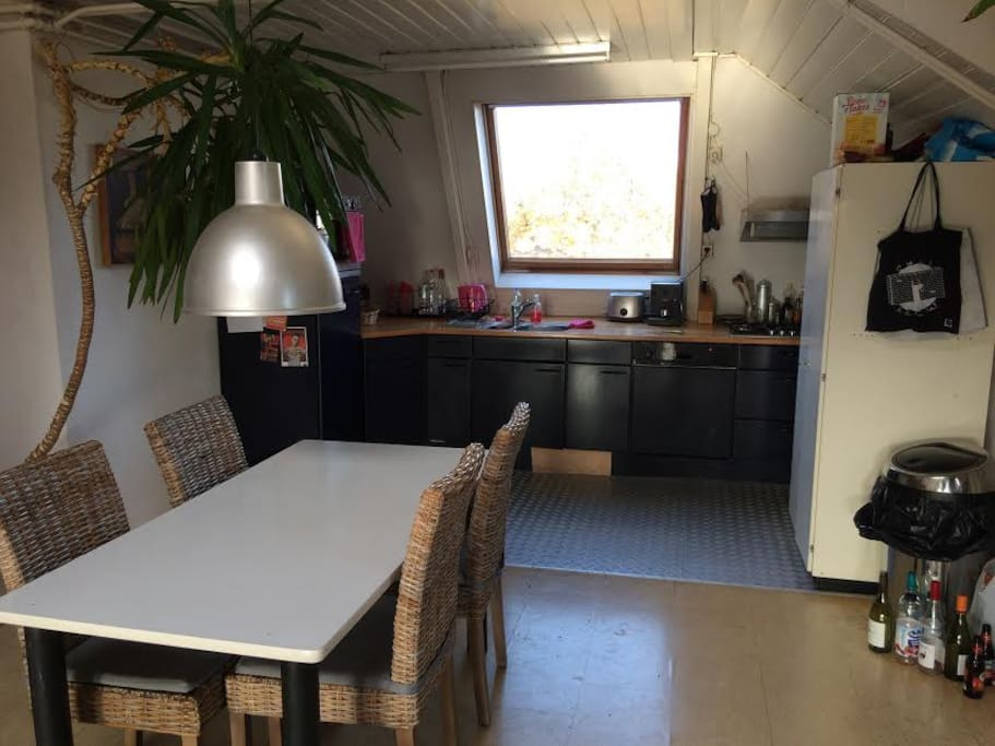 Kitchen with all equipment you might need