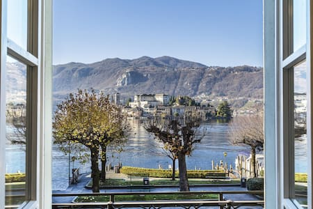 L'ISOLA house with island view - Orta San Giulio - Daire