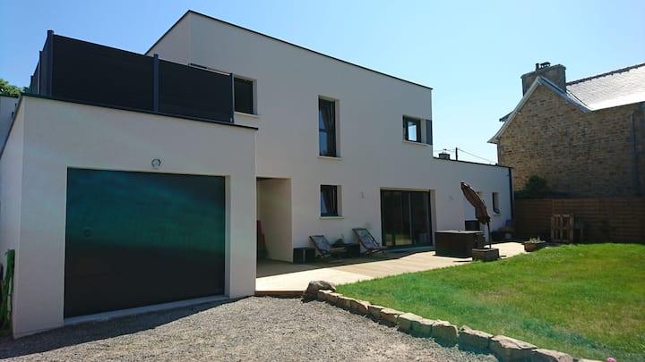 Trébeurden beach- Maison moderne