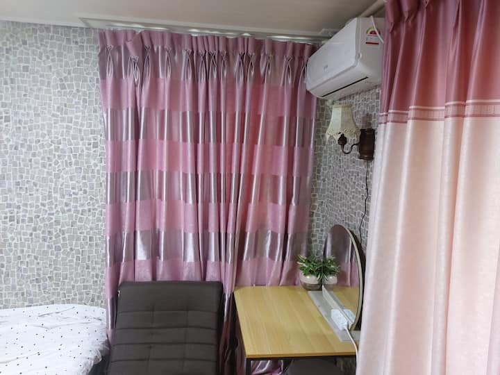 Galaxy2 studio (Queen bed+kitchen+bathroom)