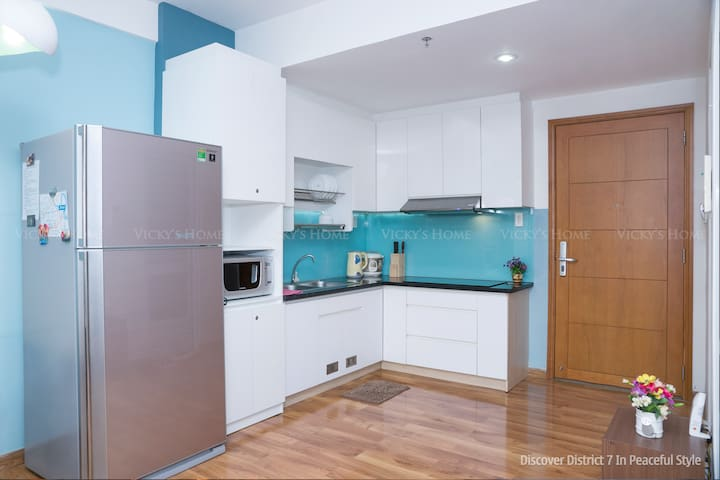 Discover Saigon &District 7 in your peaceful style - Tân Thuận Đông - Appartement