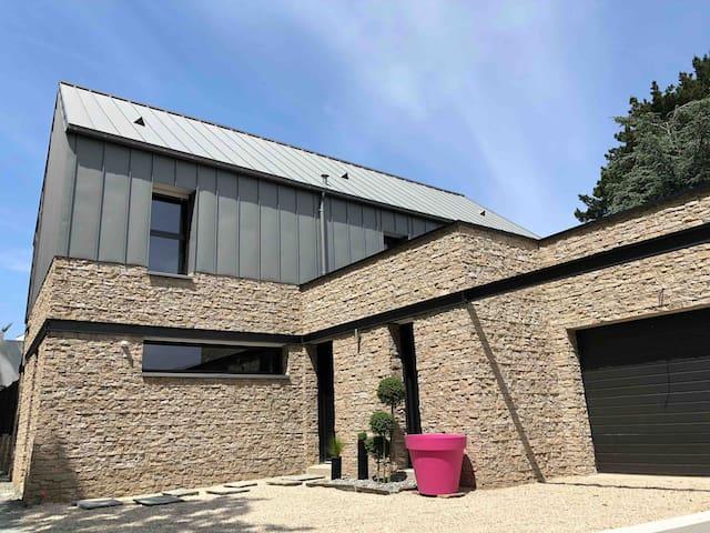 Maison d'architecte haut de gamme proche Dinard