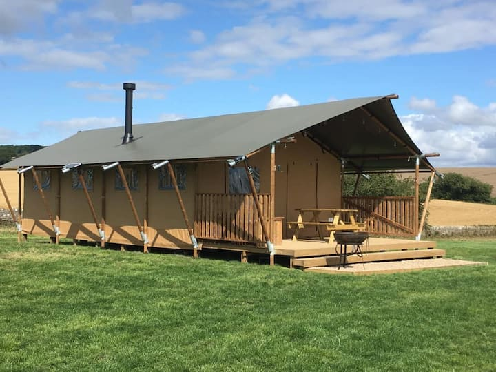 Snipe - Safari Tent - on our farm in Richmond