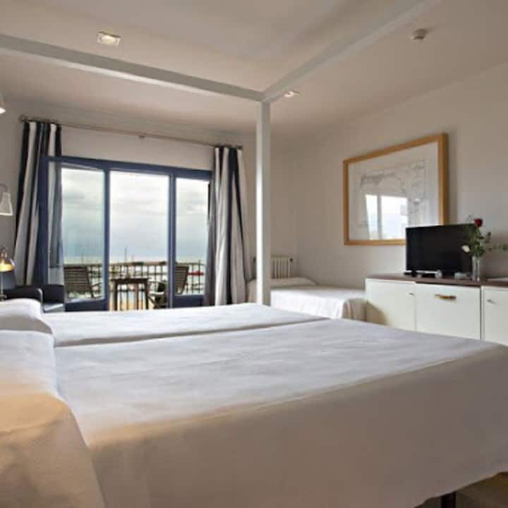 Superior room with terrace and sea view - Bed and Breakfast