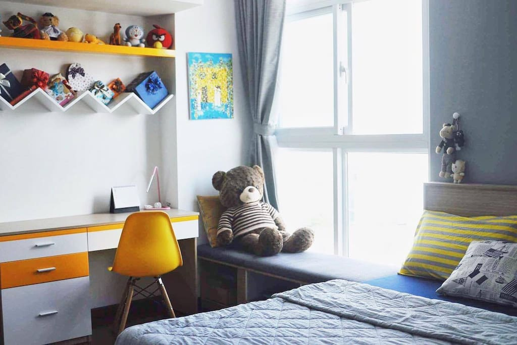 Cozy room prepared for you
