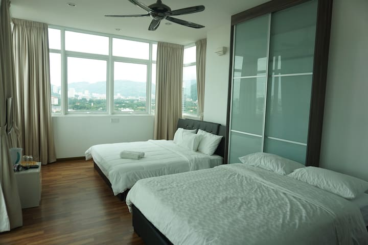 Room for 4pax. - George Town - Apartment