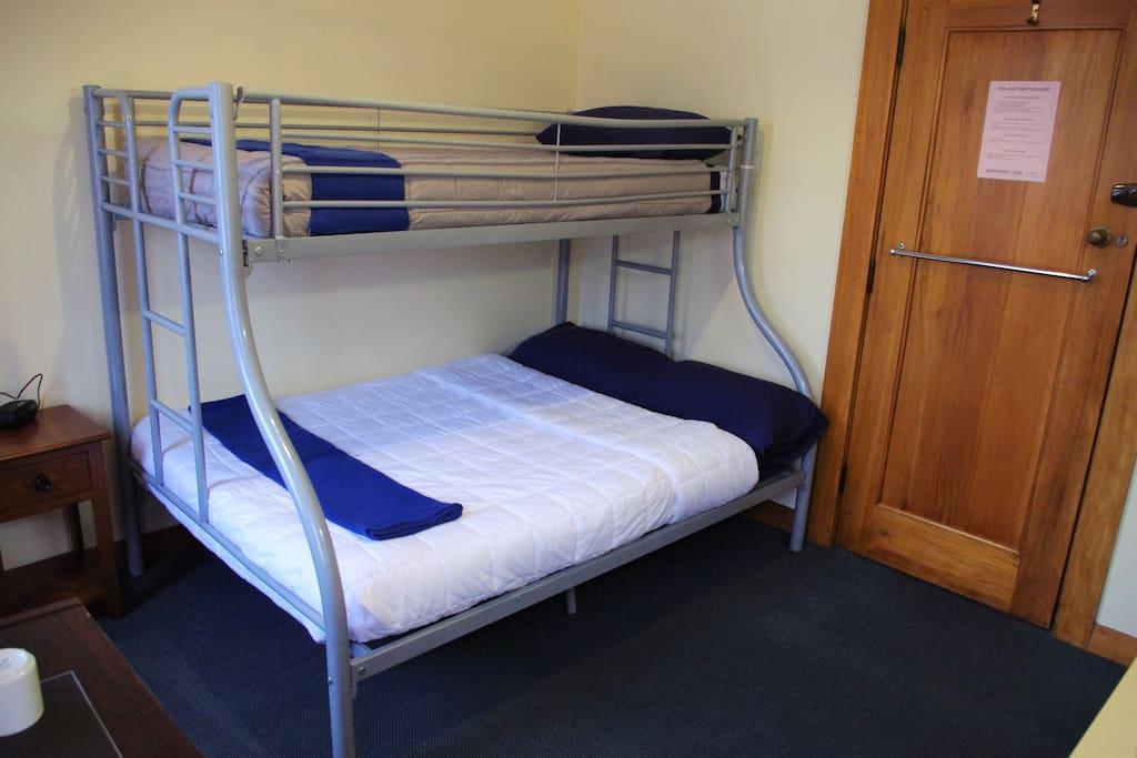 Room 21 bunks