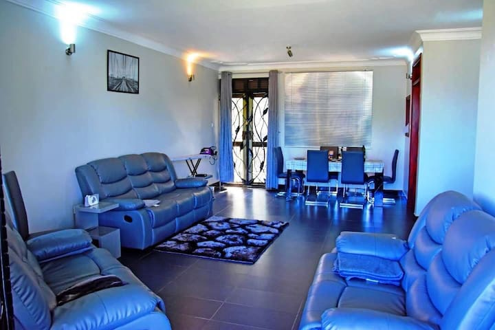 Fully Furnished House Kampala. Home away from Home