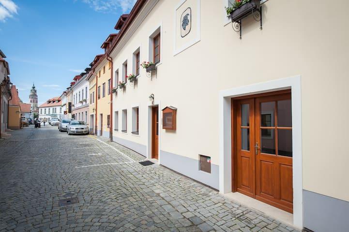 Pension Krumau - Room number 6 (view town)