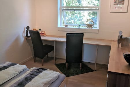Aarhus N. own room with own bath/toilet/entrance.