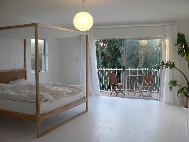Beautiful en suite bedroom with private balcony