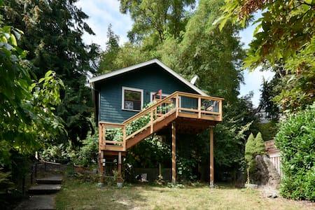 Grapevine Cottage in Mt Baker - Seattle - Ház