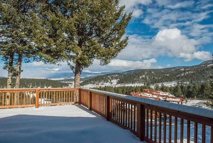 3/3 Beautiful views, close to Country Club - Angel Fire - Hus