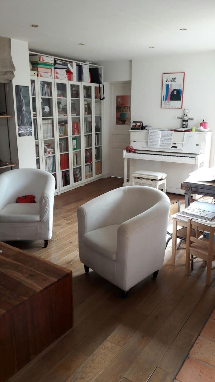Grande et confortable maison Angers centre