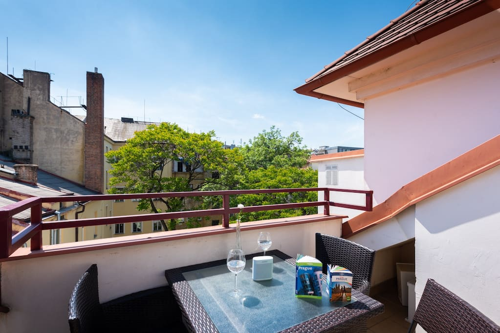 Sunny terrace :)