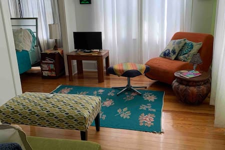 *Pvt Quiet Studio*  Walk2Beach/Ocean Ctr/Main St