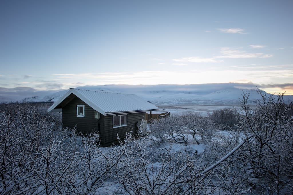 H 225 Lsask 243 Gur In Skorradalur Place With Great View Yurts