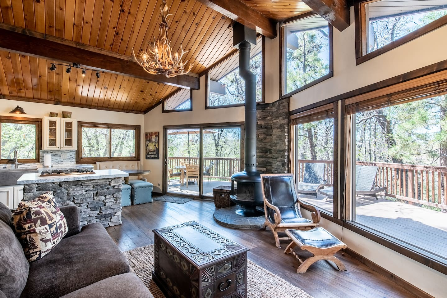 Big Bear Cabin Retreat Airbnb