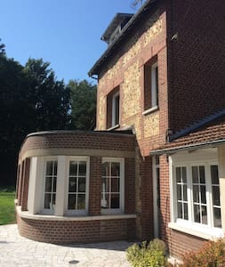 Maison avec terrasse & jardin à 5min du centre - House