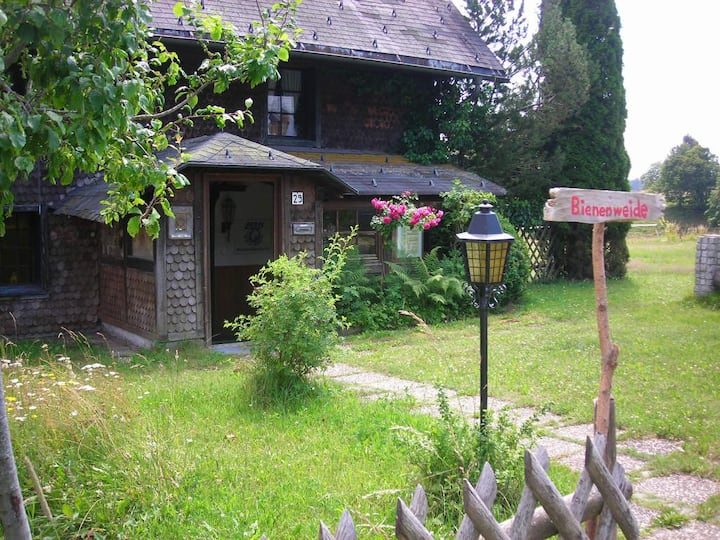 Ruhige Ferienwohnung im alten Schwarzwaldhaus