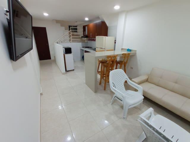 Acogedor apartamento en Gaira