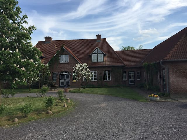 idyllische Ferienwohnung mit Garten - Zettemin - Apartamento