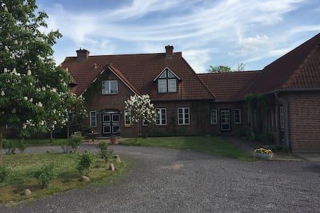 idyllische Ferienwohnung mit Garten - Zettemin - Apartment