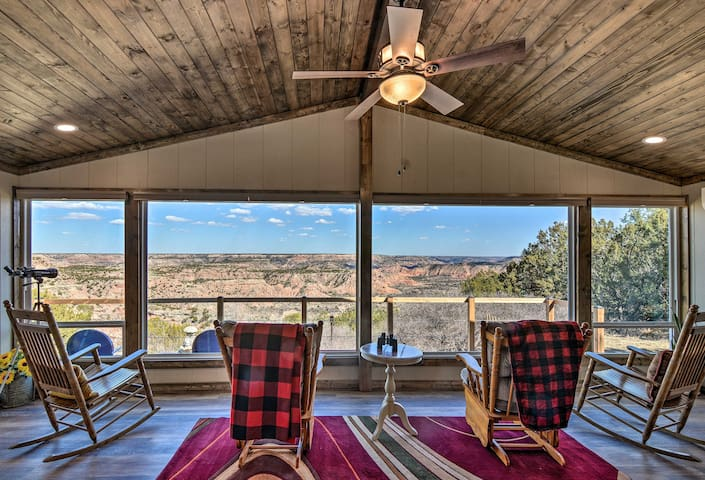 NEW! Renovated Home Overlooking Palo Duro Canyon!