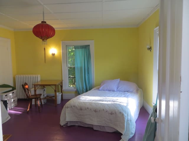 Guest rooms in the Frothingham House, Belfast, ME.