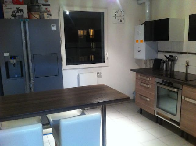 Spacious appt near Stade France-Paris-CDG airport - Pierrefitte-sur-Seine - Appartement