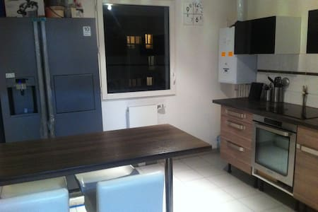 Spacious appt near Stade France-Paris-CDG airport - Pierrefitte-sur-Seine - Wohnung