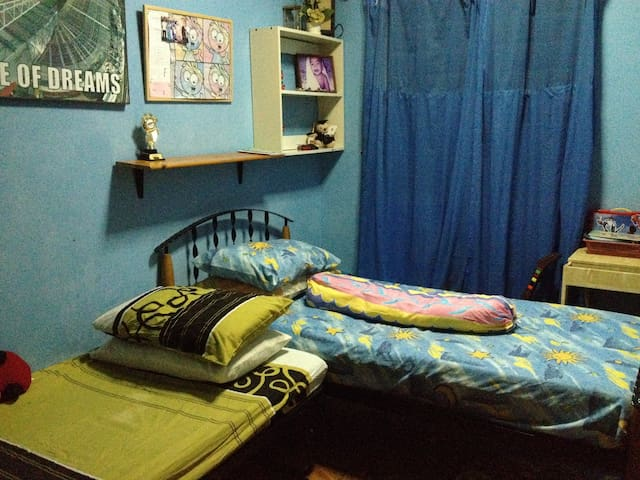 Isjue, family-friendly, Room .. - Sepang - Hus