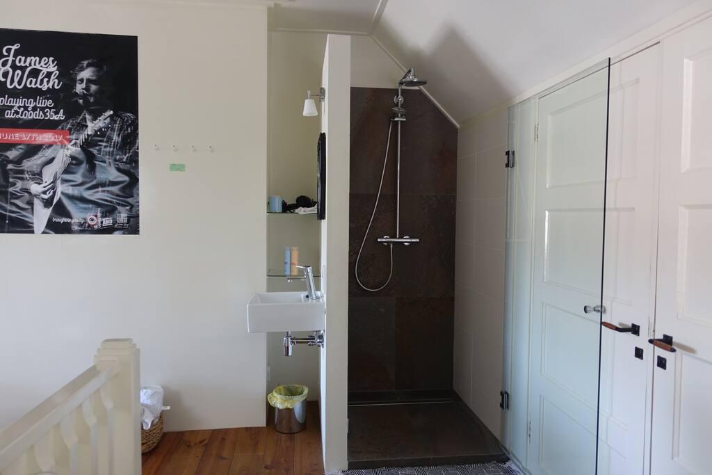 De stijlvolle douche