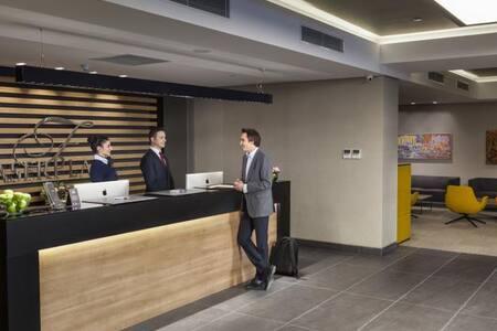 Fully furnished 1+1 bedroom residence - Ümraniye - Hotellipalvelut tarjoava huoneisto