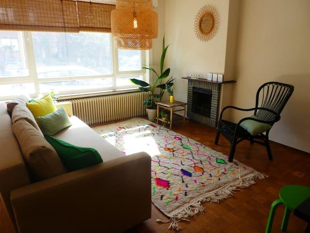 gezellig ruim appartement op perfecte locatie!!