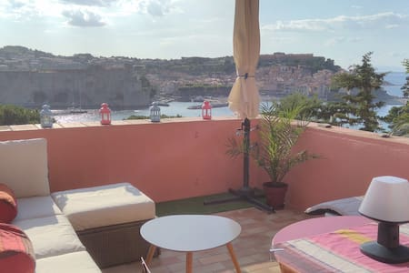 Emplacement Unique ! Studio vue sur mer ! Garage ! - Collioure - Appartement