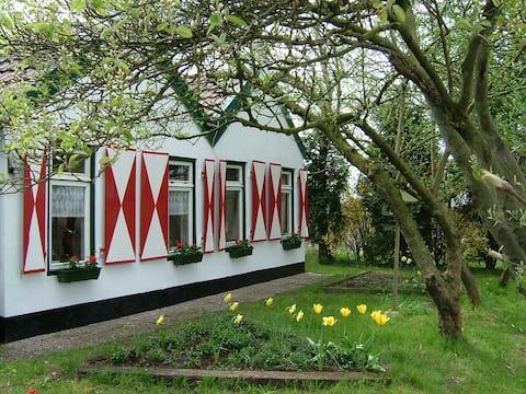 Romantic farm house with large garden