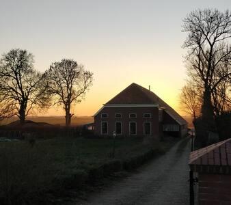 Duurzaam overnachten in een moderne woonboerderij.