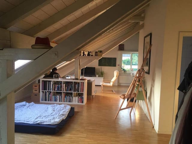 Light and cozy studio - Lucerna - Apartament
