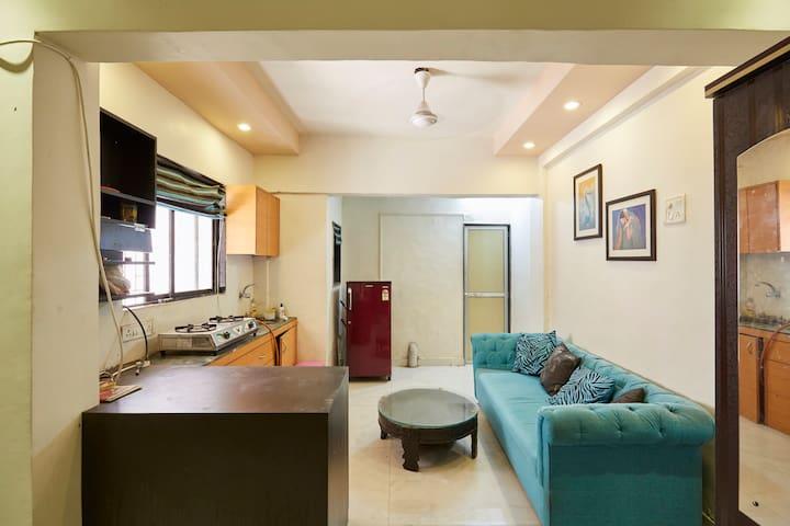 Studio Apartment in Andheri West - Bombaim - Apartamento